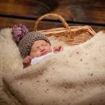Newborn Shooting von Milla im Studio Lage